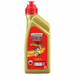 Масло Castrol Power 1 Scooter 4T 5W40 - 1L