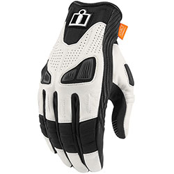 Icon Automag lady gloves - White