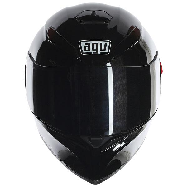 2016 Agv K3 Sv Solid Black Gloss Moto Kaska Mymoto Bg