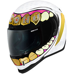ICON Airform Helmet Grillz White