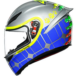 2020 Каска AGV K1 Top Rossi Mugello 15