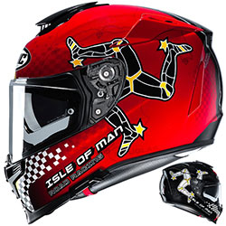 HJC RPHA-70 ISLE OF MAN helmet