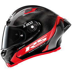 Каска X-Lite X-803 RS Ultra Carbon Hot Lap Red
