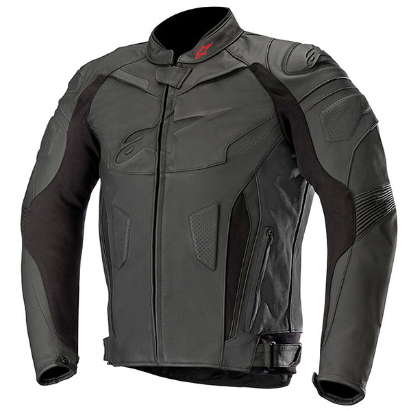 Яке Alpinestars GP Plus R V2 кожено - Черно Черно