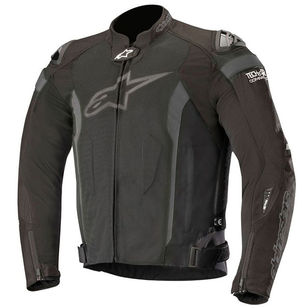 Яке Alpinestars T-Missile Air Tech-Air перфорирано - черно