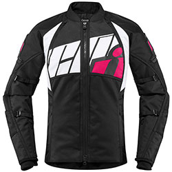ICON Automag lady jacket - Black Pink