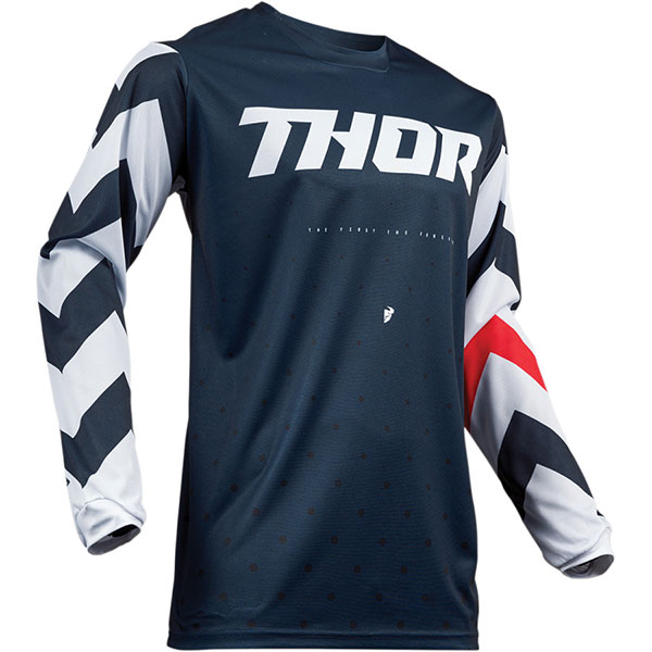 Блуза THOR Pulse Stunner - Midnight White