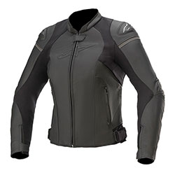 Дамско кожено яке Alpinestars Stella GP Plus R V3 - Черно