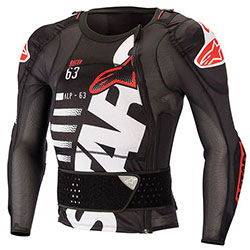 Протекторно яке Alpinestars Sequence - Black White Red